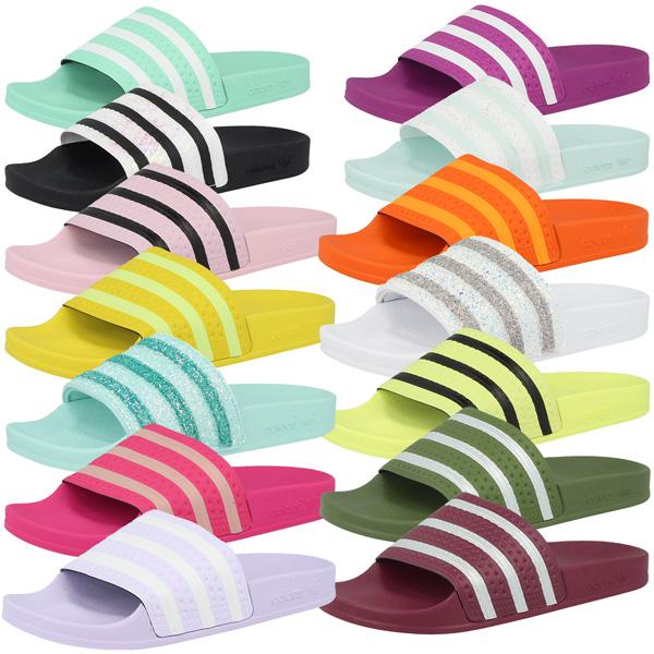 Details zu Adidas Adilette Women Damen Badelatschen Badeschuhe Sandale  Schuhe Slipper