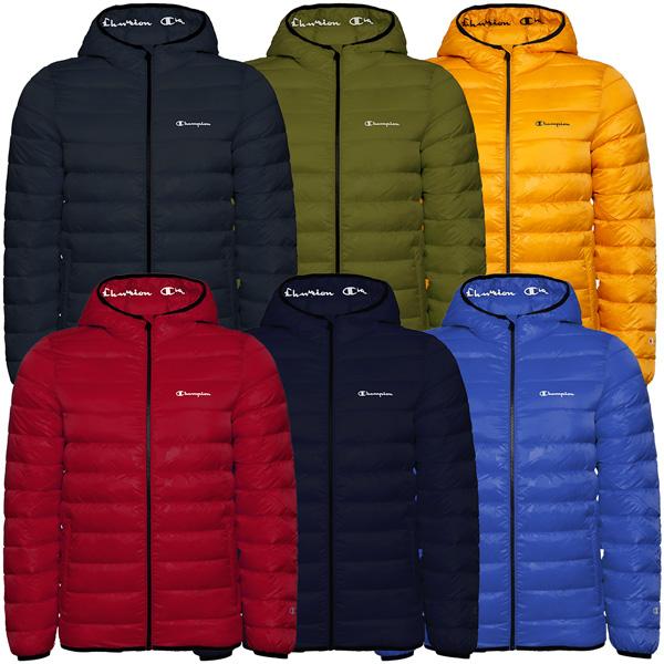 Champion Hooded Jacket Herren Outdoor Jacke Kapuzen Winterjacke 214880-KK001