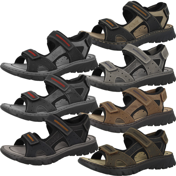 Camping & Outdoor Rieker Scuba Schuhe Herren Sandale